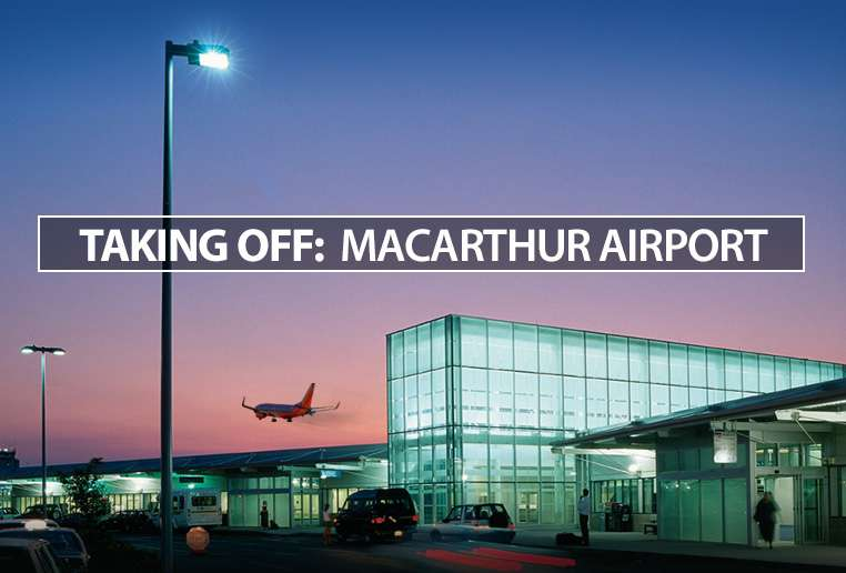 Taking Off: Macarthur Airport