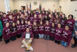 Bay Shore Varsity Girls Track Team
