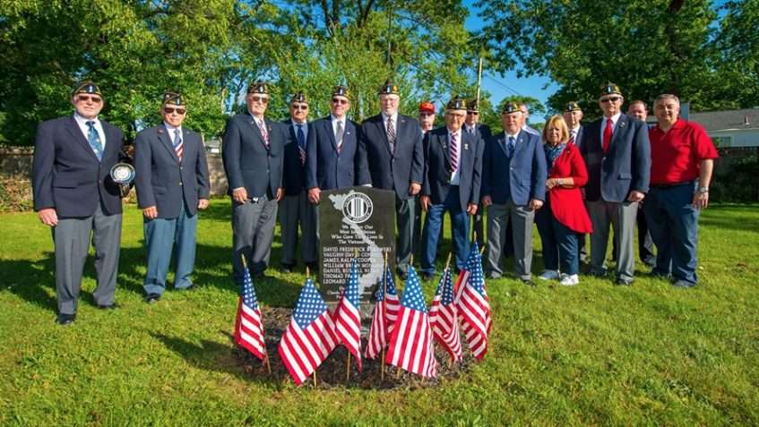 Vietnam Memorial Honors Eight West Islip Alumni