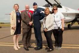 Long Island MacArthur Airport Welcomes the USAF Thunderbirds