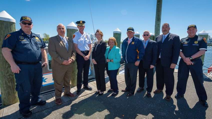 Islip Supervisor, Suffolk PD Officials Urge Safe Boating, Driving