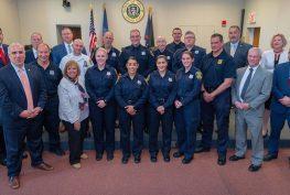 Town Celebrates Peace Officer Academy Graduates